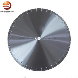China Laser Welded 400mm 500mm Diamond Saw Blade for Refractory Brick on sale