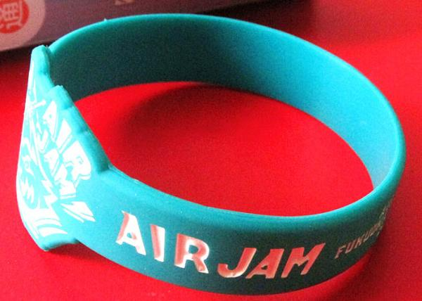 Custom Silicone Rubber Wristbands Ink