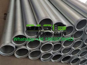 Od 177 8 Stainless Steel Drilling Well Water Sand Sieve Screens Pipes