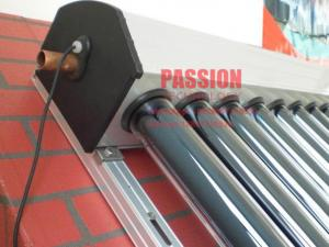 China Copper Pipe Solar Collector Heat Pipe Solar Panel Non Pressure Solar Collector Pressurized Glass Tube Geysers on sale