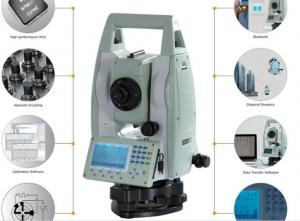 China HTS-220/R Quick Surveying Portable High Precision Total Station Real-time Total Station Price on sale