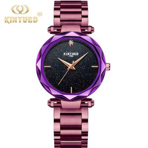 China Fashionable Design Quartz Ladies Watch Butterfly Double Buckle on sale