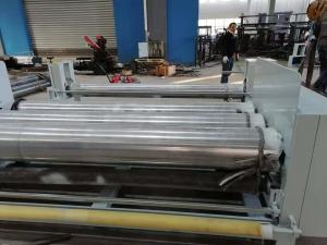 China 2700mm T Die Cast Film Machines EVA Flat Cast Extrusion Manufacturing Process on sale