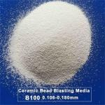 B100 Zirconia Ceramic Blasting Media For Stainless Steel Parts