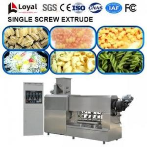 China Single Screw Extruder Food Processing Machine vermicelli extruder machine kurkure extruder machine supplier