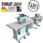2kw Disposable Gown Making Machine , 15pcs/Min Medical Gown Making Machine