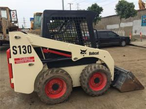 China Used BOBCAT SD130 Skid Steer Loader 180h Working Time Original Paint Year 2014 on sale