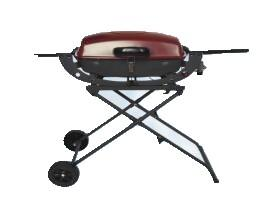 China Portable Gas Grill with trolley on sale
