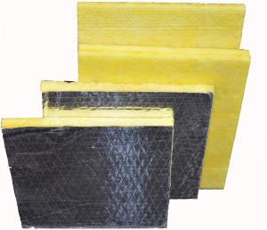 China Fireproof glass wool slab, glass wool board on sale