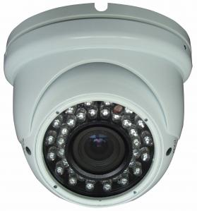 China Surveillance 1/3 CCD 650tvl CCTV Dome Camera With Audio , High Resolution on sale