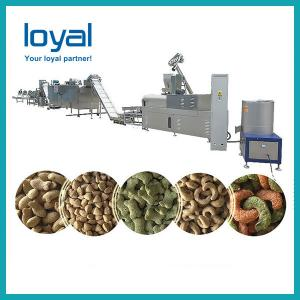 China 2 Screw Extruder Dog Food Production Line , Pet Food Extruder Machine on sale