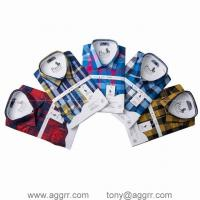China POLO long sleeve shirts men shirts plaid shirt designed shirts on sale