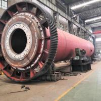 China Cylindrical PLC Control Ore Wet Stone Grinding  Mining Ball Mill on sale
