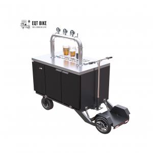 China Air Cooled Electric Scooter Beer Bike Cart 300kg Load on sale