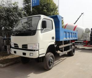 China Customized CLW brand 4*4 RHD diesel engine dump tipper truck for sale, best price New manufactured stone and soil tipper on sale