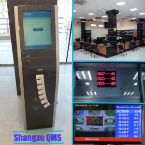 China Hospital customer queue token number Information Display and Ticket Calling system,customer flow queue management system on sale