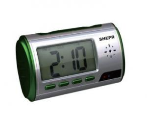 China Promotional digital alarm clock camera with factory price on sale