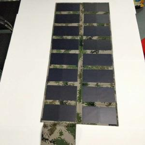 China 120W Fold Up Solar Panels 22% Efficiency Rate Solar Cell For Camping / Travel Car supplier