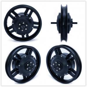 Quality Black 12 Inch 36v 250w Electric Bike Hub Motor Brushless Geared For