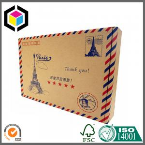 China Standard Size Color Paper Mailing Envelope; Custom Print Color Paper Envelope on sale