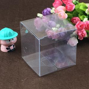 China Beautiful Customized Size Clear Plastic Shoe Boxes on sale