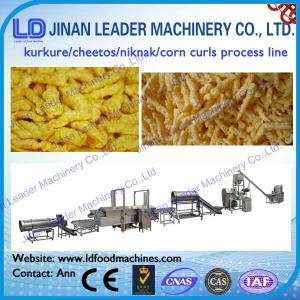 China puffed corn snacks making machine high quality with stainless steel 304 on sale