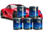 Sparkle Electroplated Silver Metallic Automotive Paint Custom Color For Spray