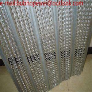 China galvanized metal lathe/expanded metal ceiling/3.4 metal mesh/stucco metal mesh/lath staples/expanded metal box on sale
