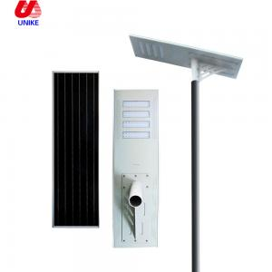 China Outdoor lamp garden solar led street light with solar panel 30w on sale