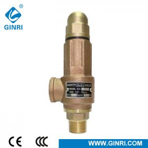 China S10T Bronze Adjustable Water Heater Gas High Pressure  Safety Valve on sale