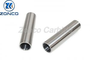 China Corrosion Resistance Valve Sleeve , High Hardness Yg8 Carbide Drill Bushings on sale