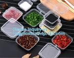Sauce Pot Chutney Cups Slime Storage Container Box With Lids Kitchen Organizer Drop Ship Baking Jelly Dessert Cup