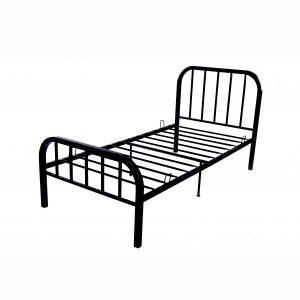 China High Load Carrying Strength Cast Iron Single Bed , Heavy Duty Single Bed Frame on sale