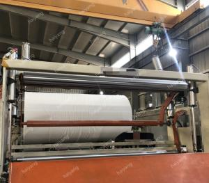 China 1092mm 3T/D Toilet tissue paper machine jumbo roll making machine on sale