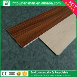 Plastic Wood Floor Interlocking Flooring 3mm Vinyl Sheet