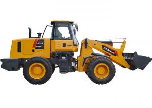 China Easy Operation Small Skid Steer Loader 625B Front Wheel Loader With 2.5ton Rated Load on sale