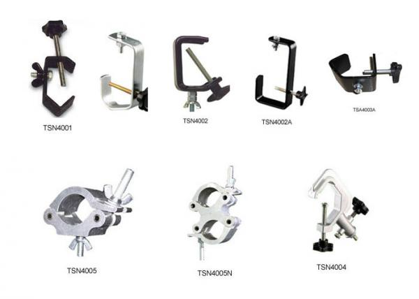 Aluminum Stage Lighting Parts Clamps