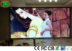 China P3.91 Indoor stage full color rental led display high-end die casting aluminum cabinet background screen on sale