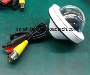 China Bus/Train Surveillance Mini Metal CCTV Security Cameras, With Audio Output on sale