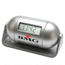 China Pill-Shaped LCD Multi Function Alarm Clock on sale