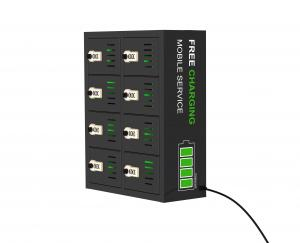 China Cell phone charging station locker with 8 bay on sale
