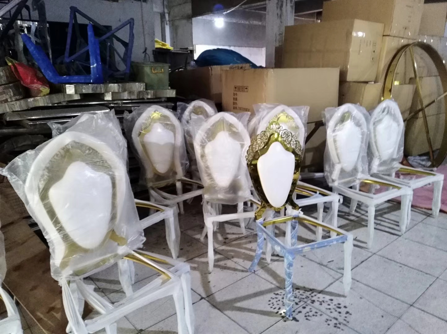 China Stainless Steel Furniture Factory Chairs Tables Manufacturer In Foshan For Sale Stainless Steel Furniture Manufacturer From China 108479724