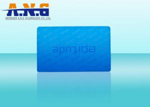 China CR80 Matte Finishing PVC Card , contactless Smart Business Cards UV Printing on sale
