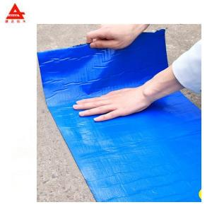 China 1m*30m Self Adhesive Bituminous Sheet With Blue Film on sale
