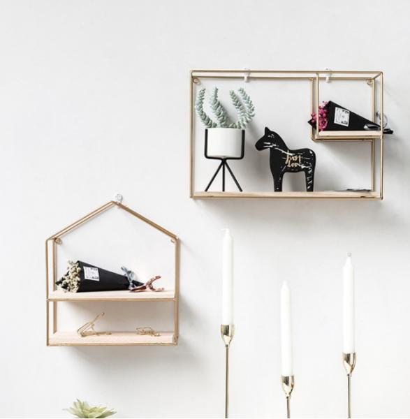 Diy Porch Room Small Wall Storage Shelf