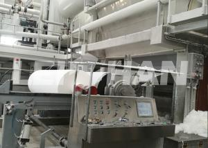 China 5-50T/D Toilet Tissue Paper Machine For Paper Mill on sale