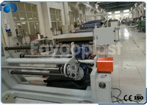 China High Output PVC Board Making Machine , Plastic Sheet Manufacturing Machine on sale