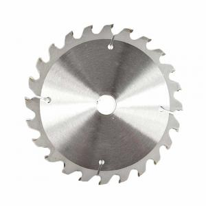 China 6-1/2 Inch TCT Circular Saw Blade 24 Tooth , TCT Metal Cutting Blade on sale