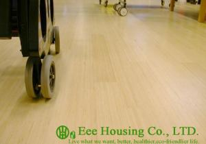 China Natural Color Bamboo Flooring,Vertical-compressed Structure, General UV Varnish Coating on sale