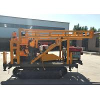 China 65KW Hydraulic Diesel Engine 200m Portable Well Drilling Rig on sale